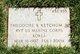 PVT Theodore R Ketchum, Jr