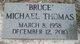 Profile photo:  Michael Bruce Thomas