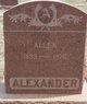 Allen Alexander