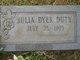 Julia <I>Dyer</I> Duty