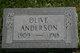 Profile photo:  Olive Anderson