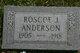 Profile photo:  Roscoe Anderson