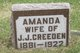 Profile photo:  Amanda Creeden
