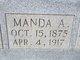 """Amanda A. """"Manda"""" <I>Price</I> Thompson"""