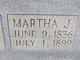 Martha J. <I>Beard</I> Thompson