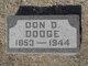 Profile photo:  Don D Dodge