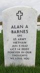 Profile photo:  Alan Arthur Barnes