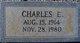 Charles E Hudson