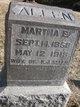 Martha Ellen <I>Culbertson</I> Allen