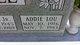 Profile photo:  Addie Lou <I>Brigman</I> Riddle