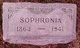 Sophronia Christiania <I>Blattner</I> Riddle