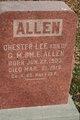 Profile photo:  Chester Lee Allen