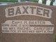 Capt R Baxter