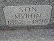 Profile photo:  Myron A Baughman