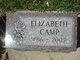 Elizabeth <I>Mrotzek</I> Camp