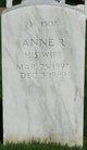 Profile photo:  Anne R Arrowsmith