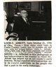 Profile photo:  Louis Cleveland Abbott, Sr