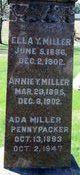 Profile photo:  Ada <I>Miller</I> Pennypacker