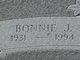 Profile photo:  Bonnie J <I>Baker</I> Bishop