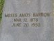 Profile photo:  Moses Amos Barrow, Sr