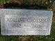 Adeline Cassandra <I>Baldridge</I> Crossen
