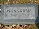 Verna Wilma <I>McCollum</I> Lewis