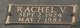 Profile photo:  Rachel Lucille <I>Vaughn</I> Graham