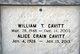 Profile photo:  Alice <I>Crain</I> Cavitt