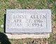 Profile photo:  Eloise Allen