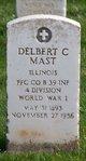 Delbert C Mast