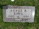 Agnes B <I>Barrett</I> King