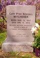 Cary Pyke <I>Kendall</I> Mitchener