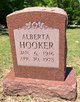 Profile photo:  Alberta Hooker