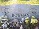 Hazel <I>Roberts</I> Bowman