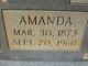 Profile photo:  Amanda Verlin <I>Key</I> Waid