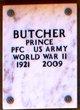 Profile photo:  Prince Butcher