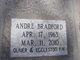 Profile photo:  Andre Bradford