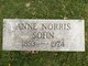"Profile photo:  Anne ""Annie"" <I>Norris</I> Sohn"