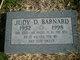 Profile photo:  Judy D Barnard