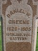 Profile photo:  Daniel Webster Greene