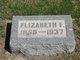 Elizabeth Frances <I>Bradford</I> Parker