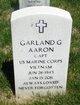 Capt Garland Gray Aaron