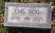 Profile photo:  Earl W. Neal