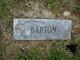 Profile photo:  Barton
