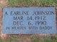 Profile photo:  Ada Earline <I>Morgan</I> Johnson