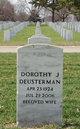 Profile photo:  Dorothy Jean <I>Christensen</I> Deusterman