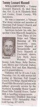 Tommy Leonard Maxwell
