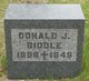 Donald J Biddle