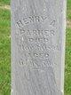 Henry A Parker