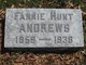 Fannie <I>Hunt</I> Andrews